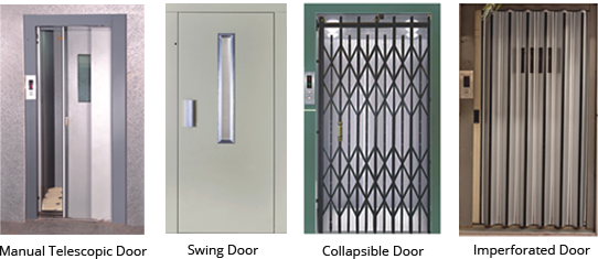 Manual Door Types